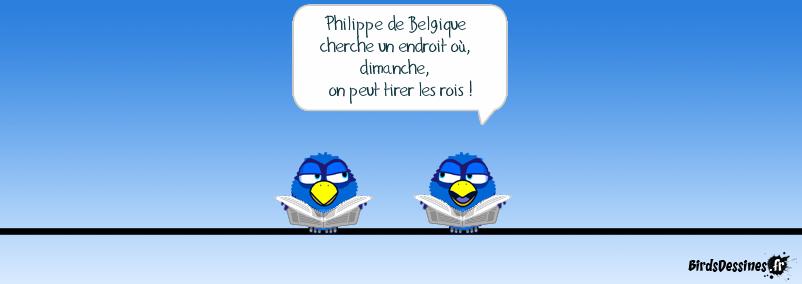 Roi des belges (clin d'oeil à Ti Gus)