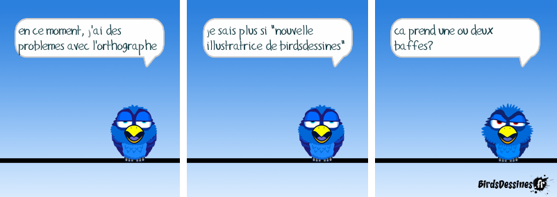 probleme d'orthographe