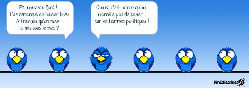 Bavoir bleu