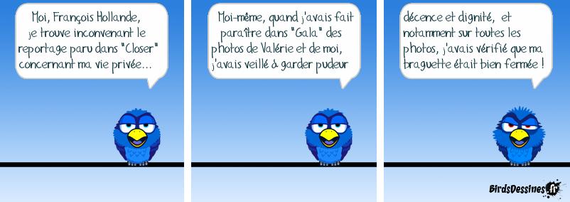 Une déclaration de François Hollande !