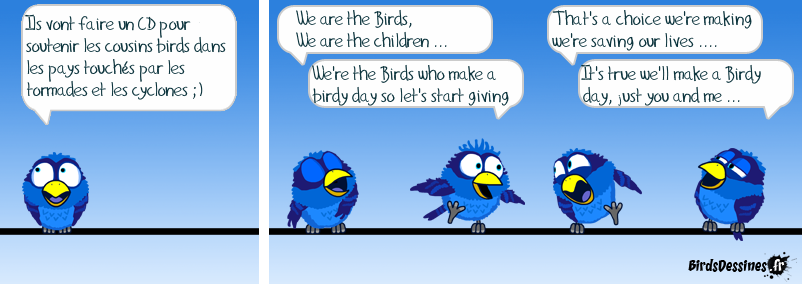 We're the Birds
