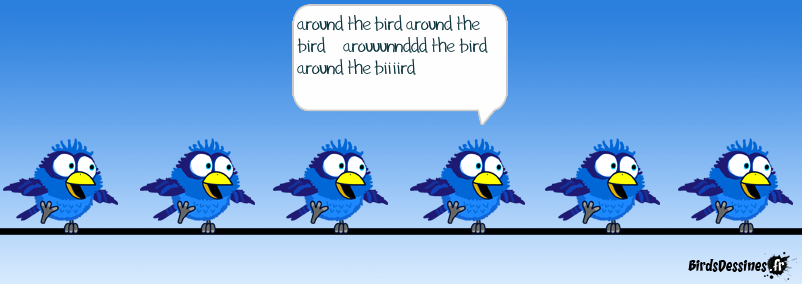 daft bird