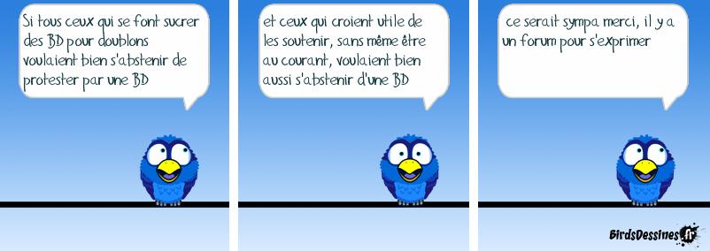 Avis aux Birds