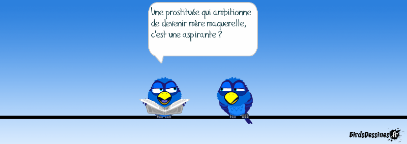 Prostituée 2ème classe Vandeputte, au rapport !