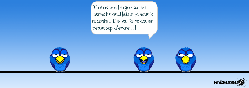 Blague sur les journalistes