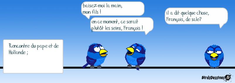 le François parle au François