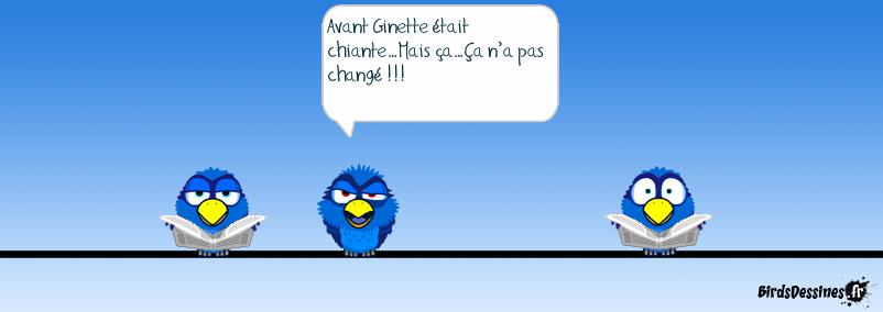 Ginette avant...