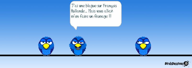 Blague sur François Hollande