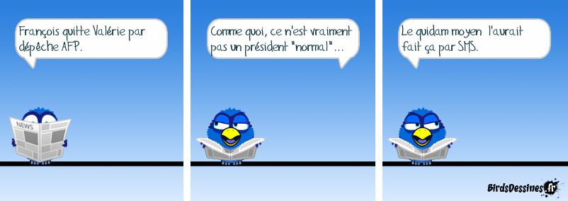Notre Président qui est à l'Élysée