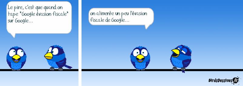 Evasion fiscale de Google