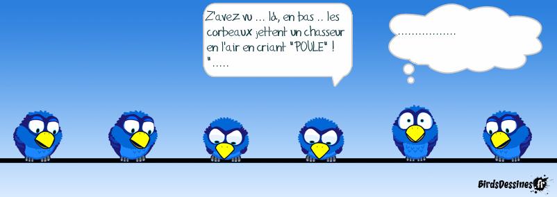 CHASSEURS ET CORBEAUX...