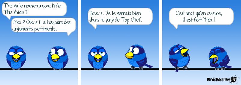 Mika au jury de Top Chef