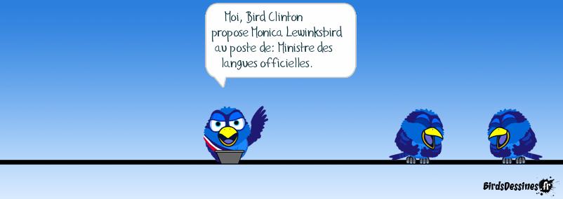 Ministre des langues officielles