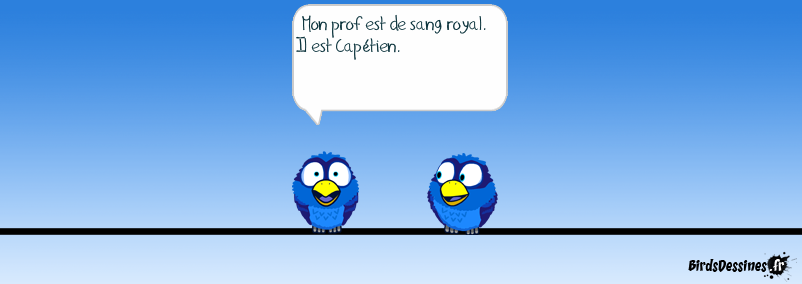 Un prof de sang royal