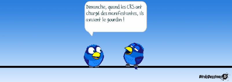 Les CRS à Nantes