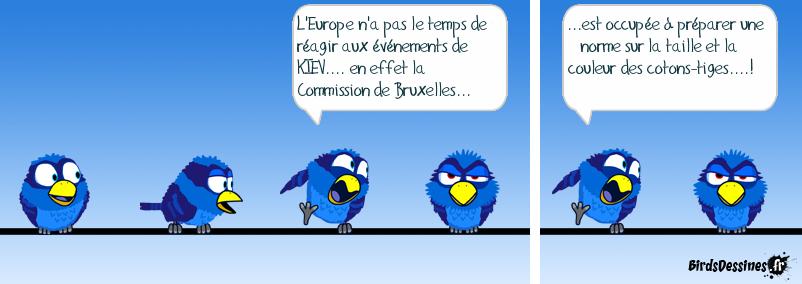 Et Bruxelles bruxellait....