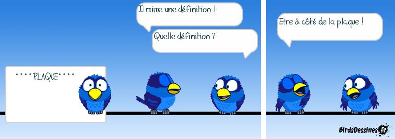 Mime de définition