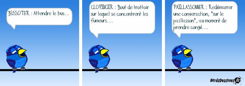 Dans le cadre de la semaine de la langue française, les internautes proposent de nouveaux mots :