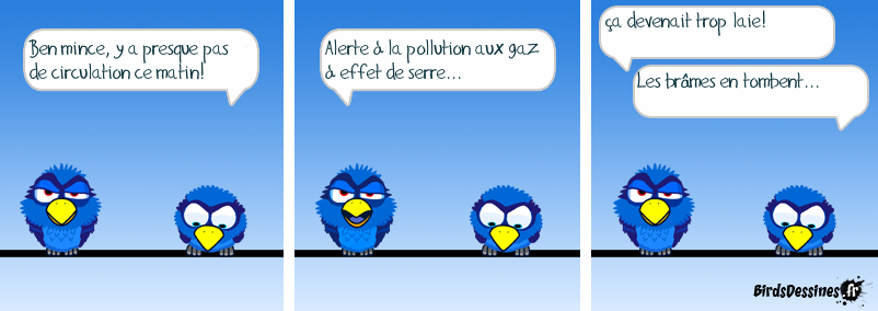 Pollution forestière...
