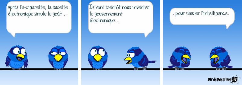 Le gouvernement électronique...