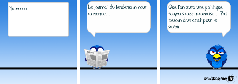 Le journal du lendemain.
