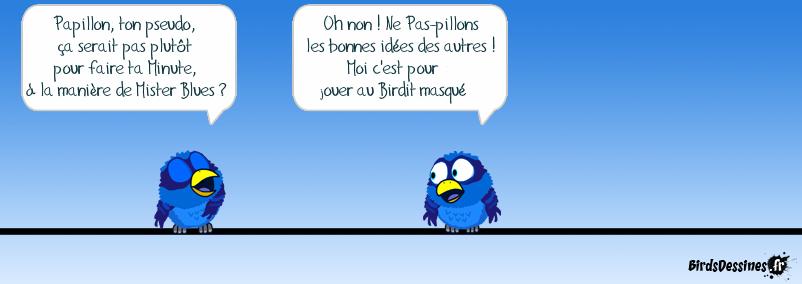 Birdit masqué