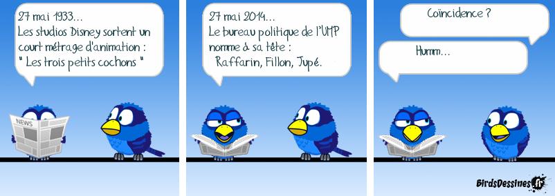 L'UMP fête un anniversaire (81ans).