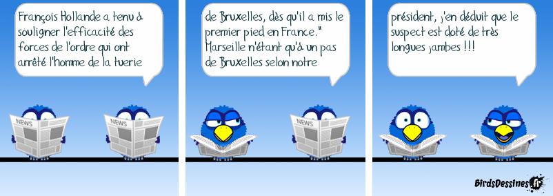 Commentaire de François Hollande