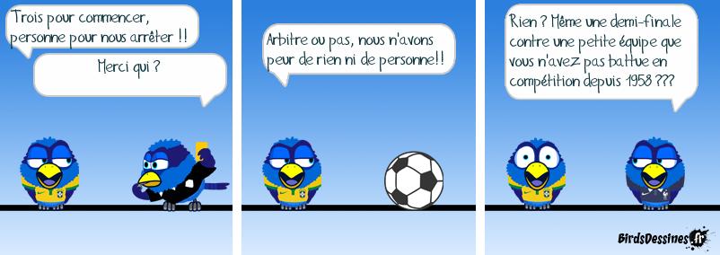 Vue (pas très) objective de la coupe du monde
