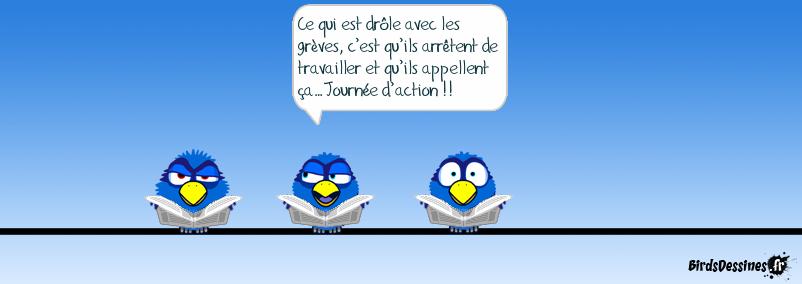 Gréve = Action