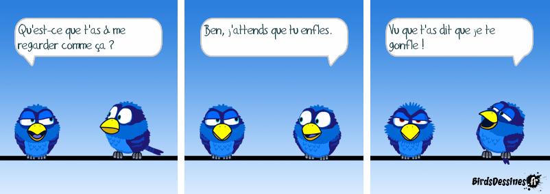 Gonflé le Bird