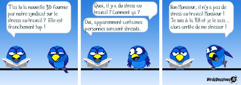 Il y a du Stress ? C'est cool !