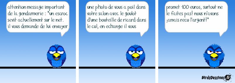 message important de la gendarmerie