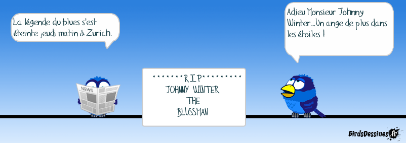 R.I.P Johnny Winter