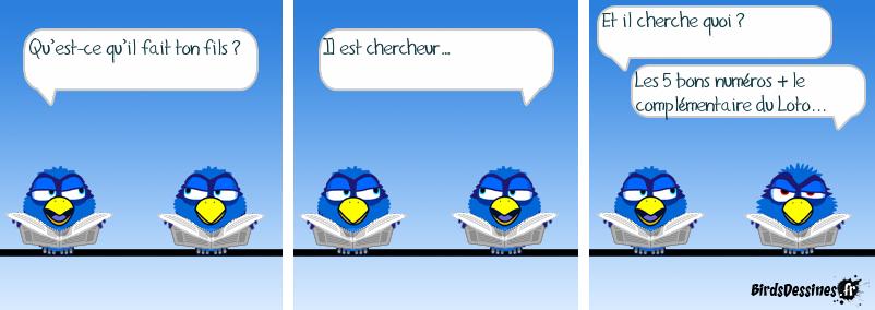 Chercheur (Variante de la BD de PAPYJAMA)