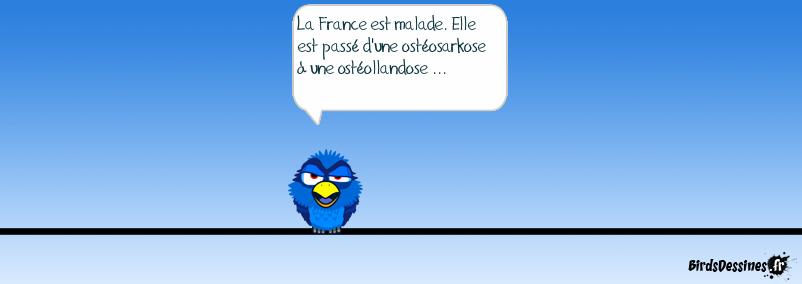 La France est malade.