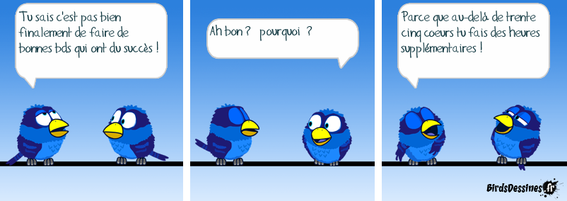 Merci Blue-Parrot