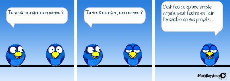 La ponctuation, c'est la vie !