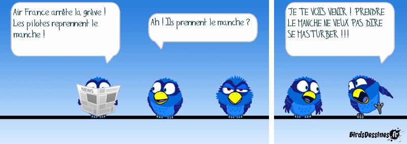 Des nouvelles d'Air France