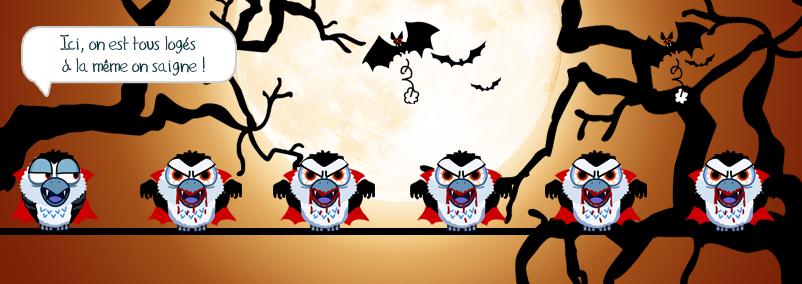 Le vampire contre-attaque