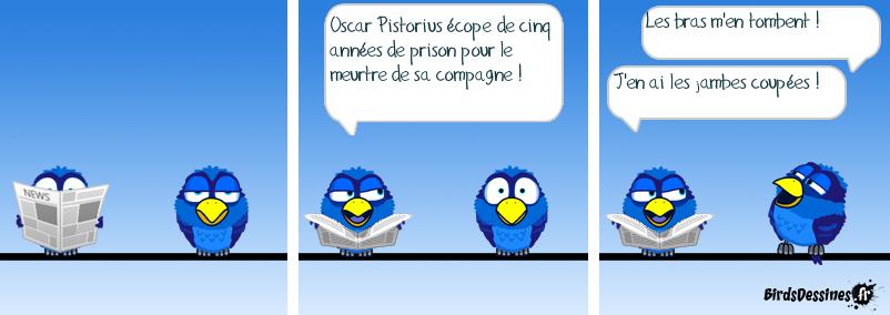 Oscar Pistorius : condamné !