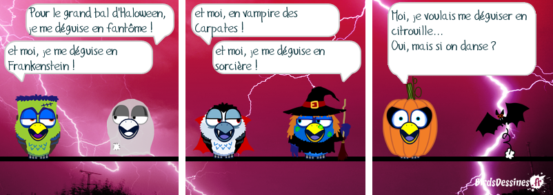 Le grand bal de Halloween