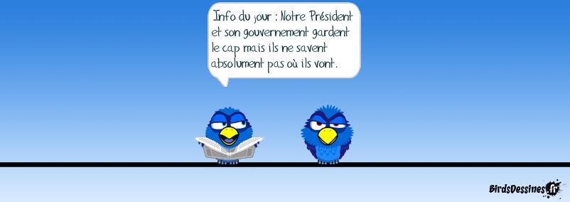 Président et Gouvernement gardent le cap