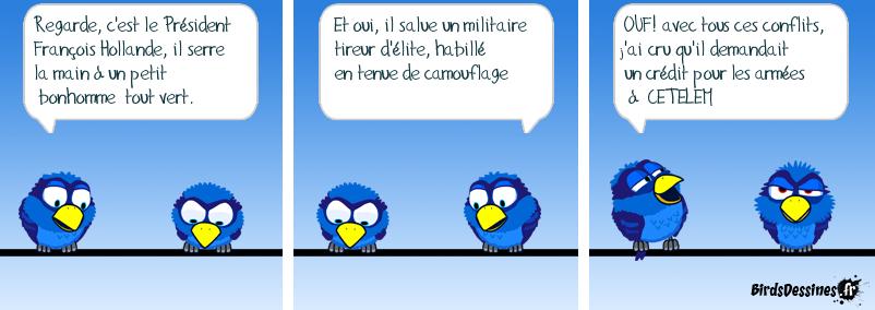 Credit Bonhomme Vert françois h et le bonhomme vert |