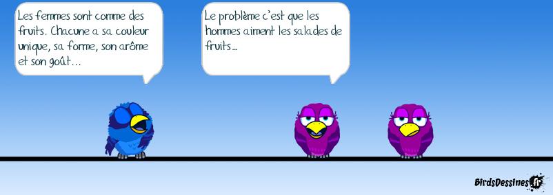 ♫♪♫Salade de fruits, jolie, jolie… ♪♫♪