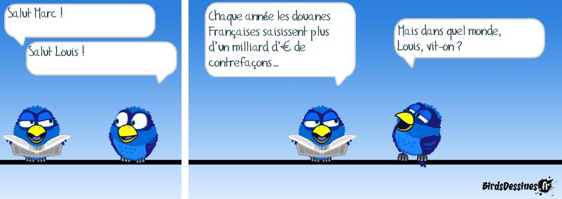 Louis Vuitton chante : ♫♪Sans contrefaçon, je suis un…♪♫