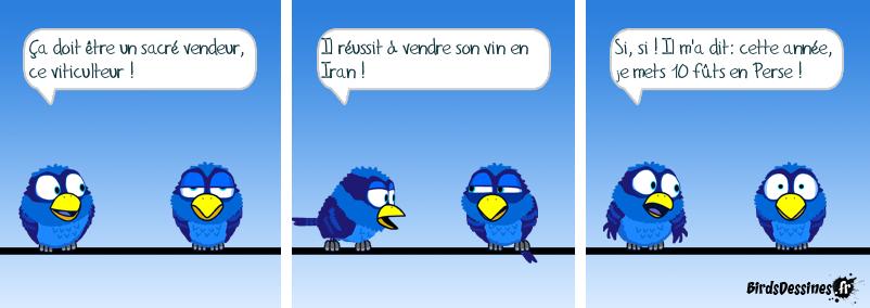 Téhéran ? Non, SDF.