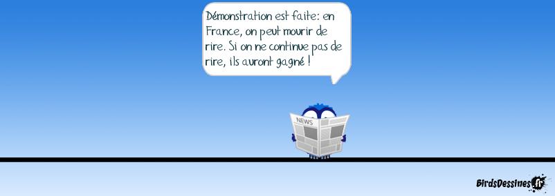 Liberté, liberté Charlie...