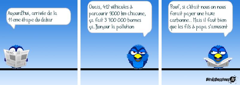 Le Dakar, quel bilan carbone ?