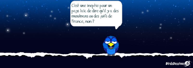 Je suis un bird de France